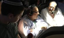 Nachum Segal in-flight interview with Rabbi Brander