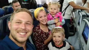 Hacohen family on way to teach in San Francisco