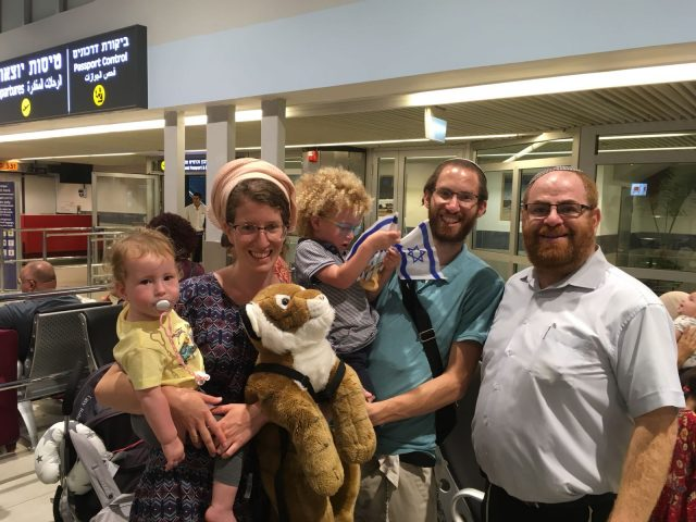 Vecht family in the airport