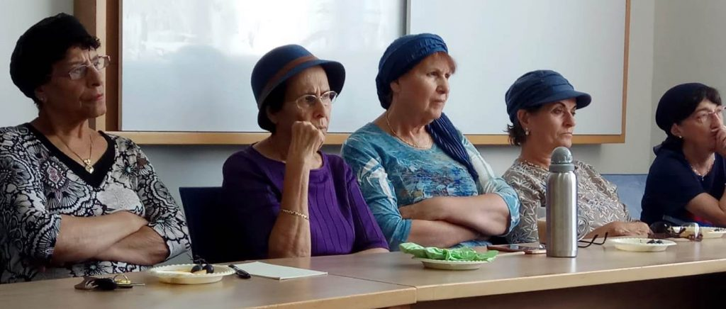 senior adults in class