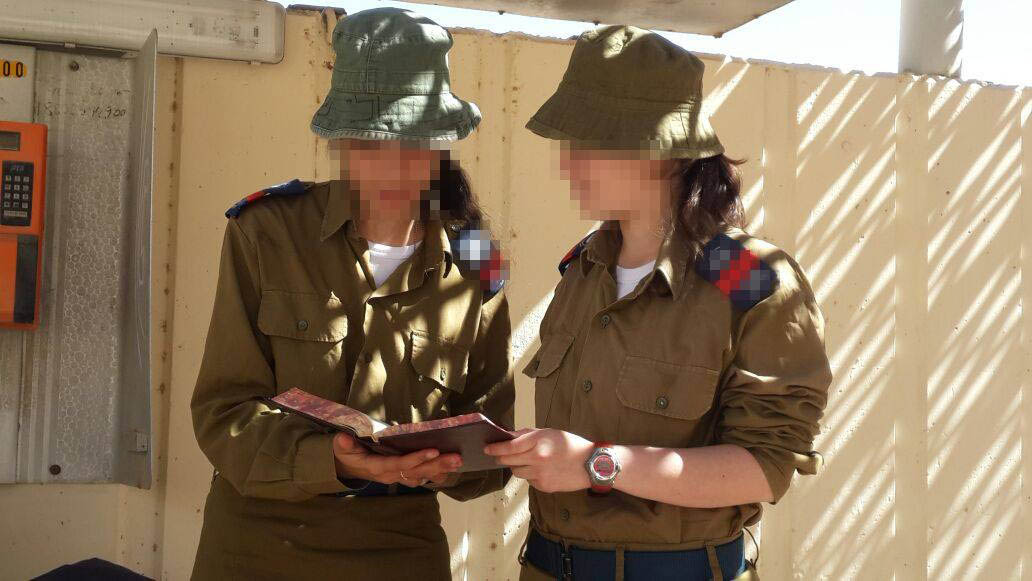 Hadas soldiers learning