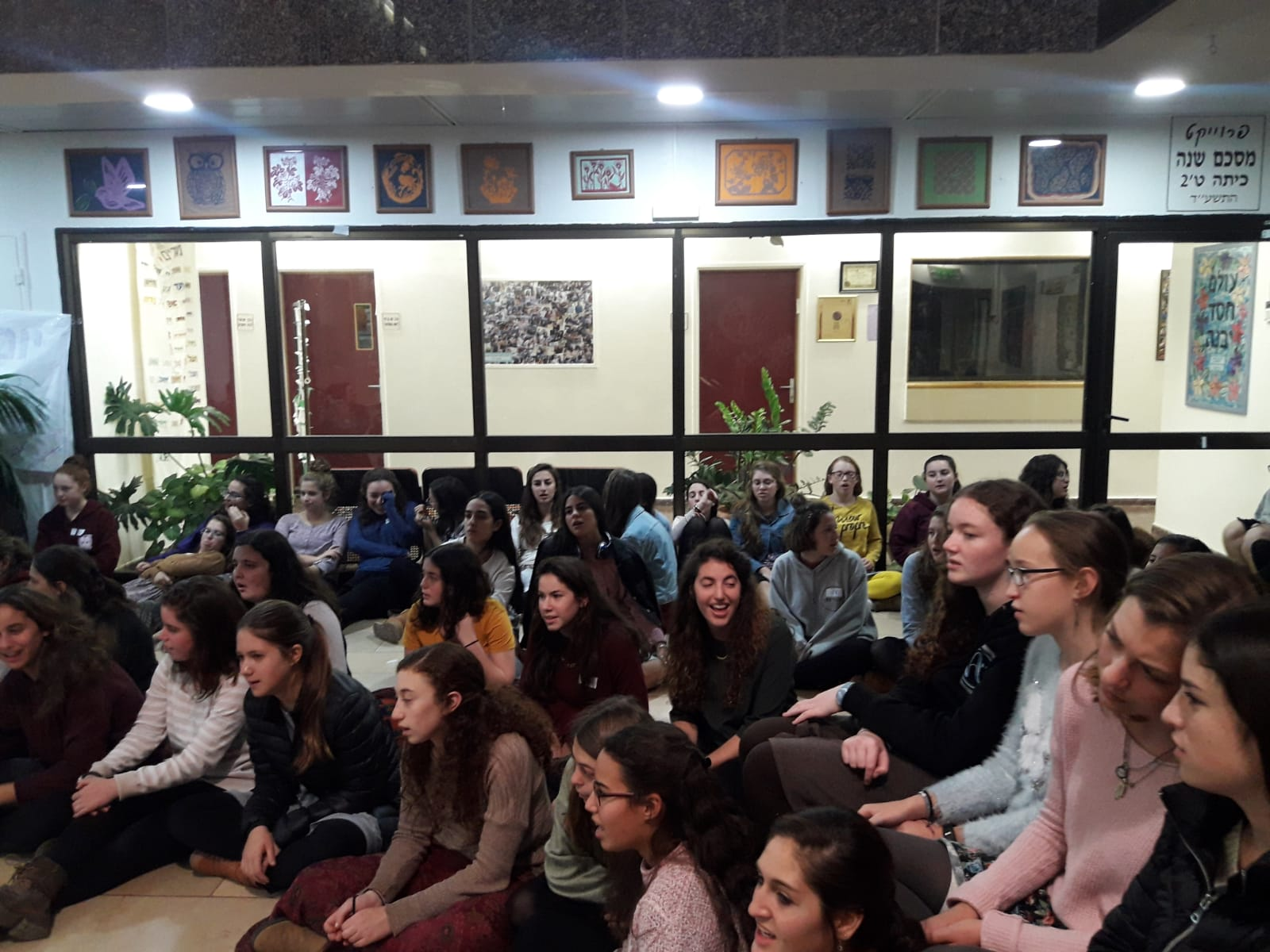 Neveh Channah Hosts Sderot girls