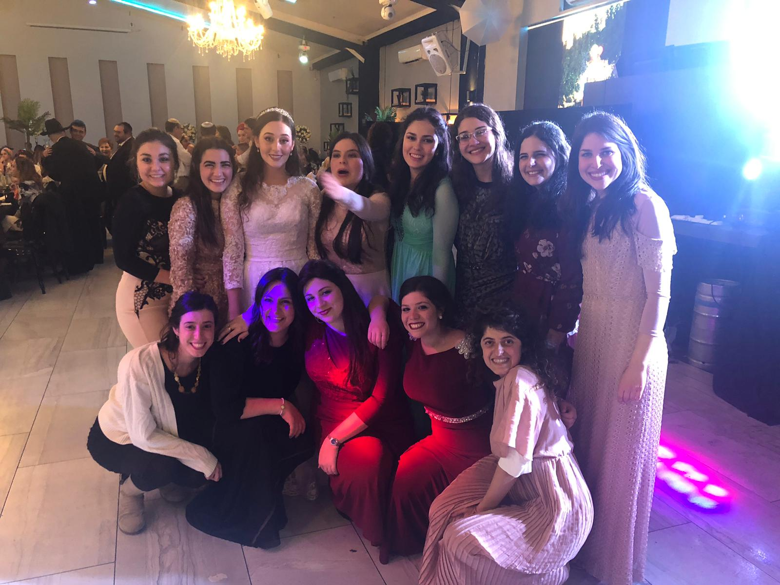 Amlat class of 2017 at Michal's wedding