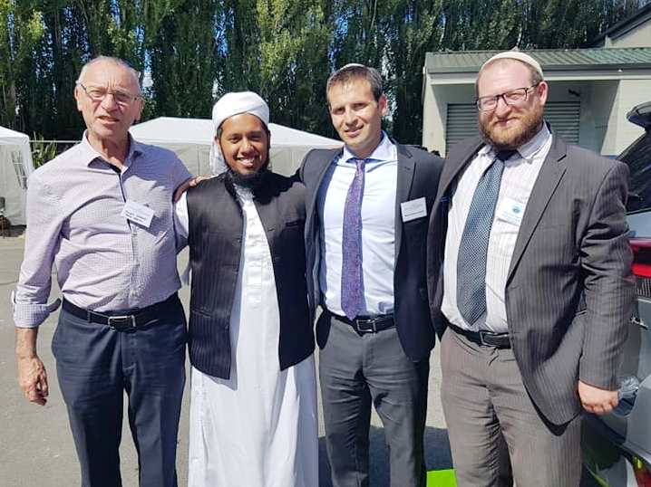 rabbis meeting with Muslims in christchurch