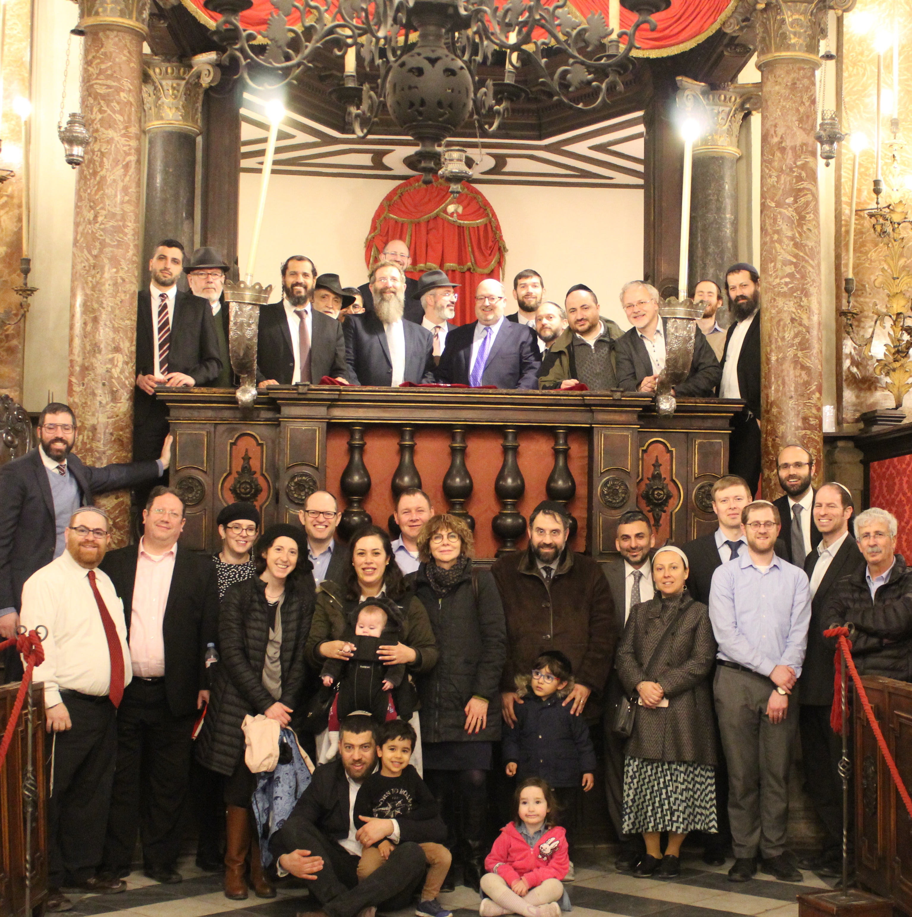 Venice conference in Venice Museum synagogue