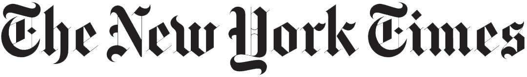 New York Times logo from Wikimedia Commons