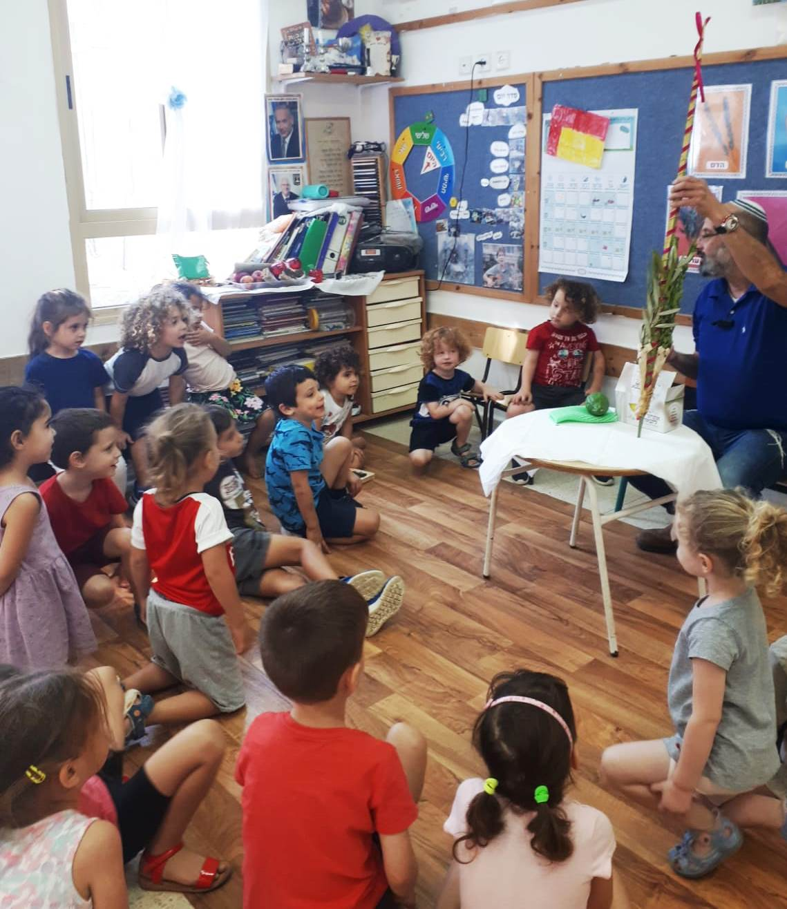 teaching kids about the lulav