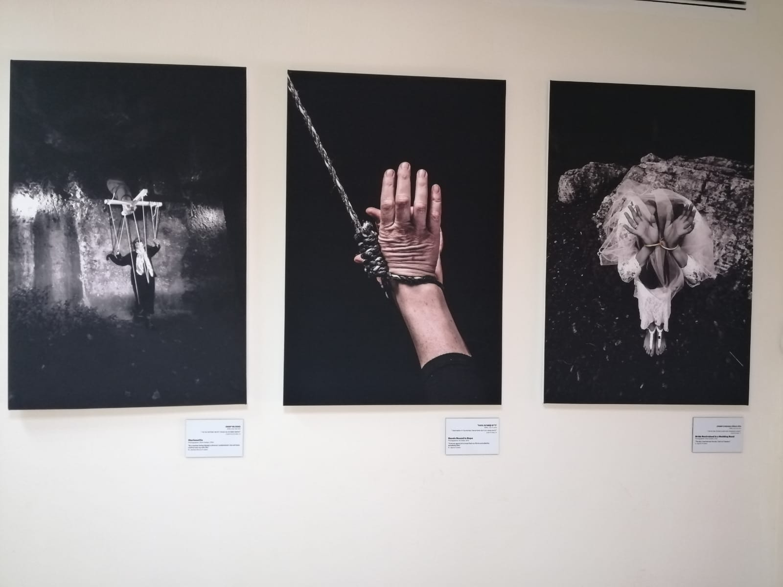 Part of the exhibition