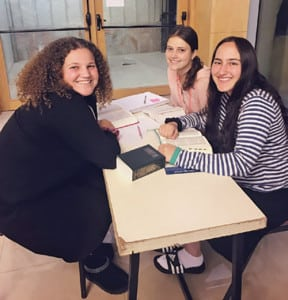 studying in the beit midrash