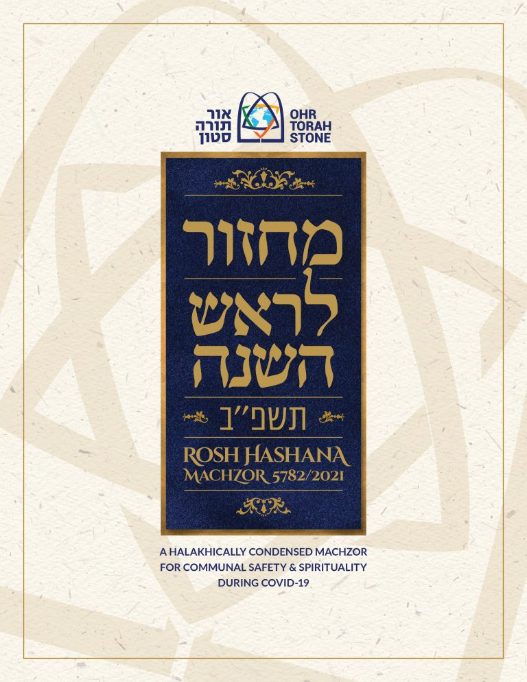 Cover of Halakhically Condensed Machzor 5782