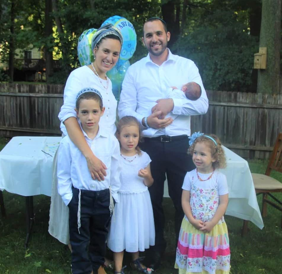 Merav and Yaakov Wacks and family