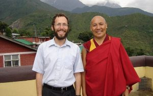 Nagen and the Dalai Lama