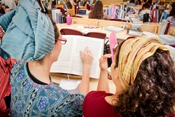 Learning in the beit midrash
