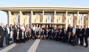 Beren-Amiel and Straus-Amiel graduation at the Knesset